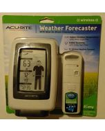 Acu-Rite Wireless Weather Forcaster with How to Dress Character - Black