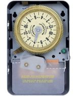 Intermatic T1905 SPDT 24 Hour 125-Volt Time Switch with 3R Indoor Steel Enclosure, Color