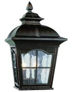"Trans Globe Lighting Outdoor Briarwood 16"" Pocket Lantern, Antique Rust"