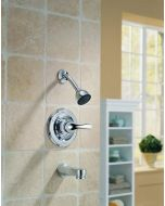 Delta Faucet T13420-PD Classic, MonitorR 13 Series Tub and Shower Trim, Chrome