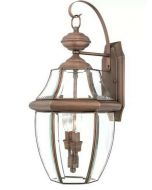Washington Mews 2-Light Outdoor Wall Lantern by Charlton Home
