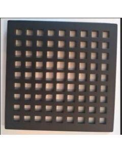 "Newport Brass 233-401/56 Decorative Drains 4"" Square Shower Drain Grid"