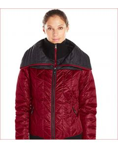Lole Women's Colleen Jacket, Red Sea Heather, X-Small