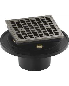 Kohler K-22673-BN Clearflo Shower Drain, Brushed Nickel