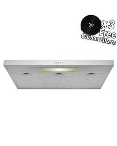 "AKDY 36"" 58 CFM Convertible Range Hood with Light in Brushed Stainless Steel"