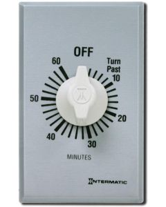 Intermatic SW60MK 60-Minute Spring Wound Timer, Gray